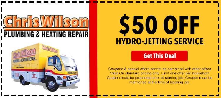 discount on hydro jetting services