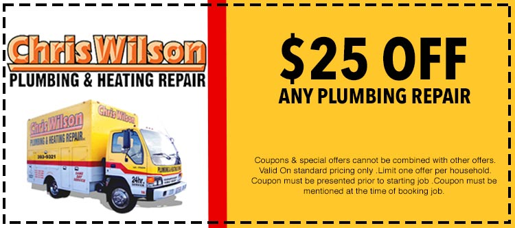 discount on plumbing repair