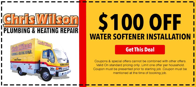 discount on water softener installation