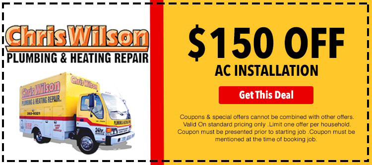 discount on air conditioner installation