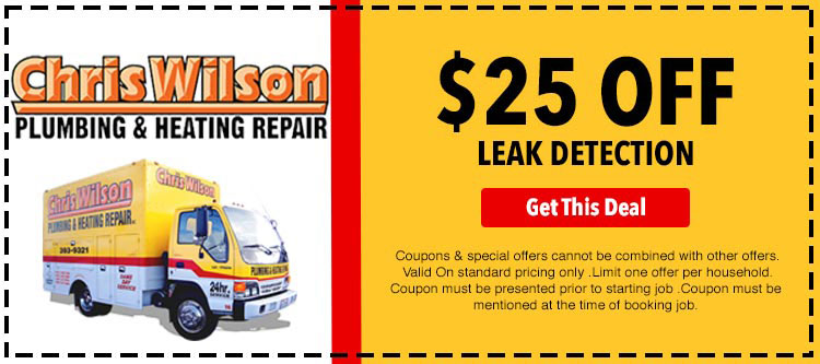 discount on leak detection services